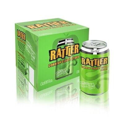 Healeys Rattler Cornish Cider Can 4 pack