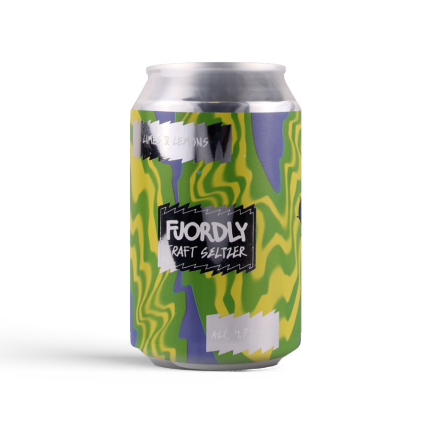 Lervig Fjordly Limes & Lemons Hard Seltzer