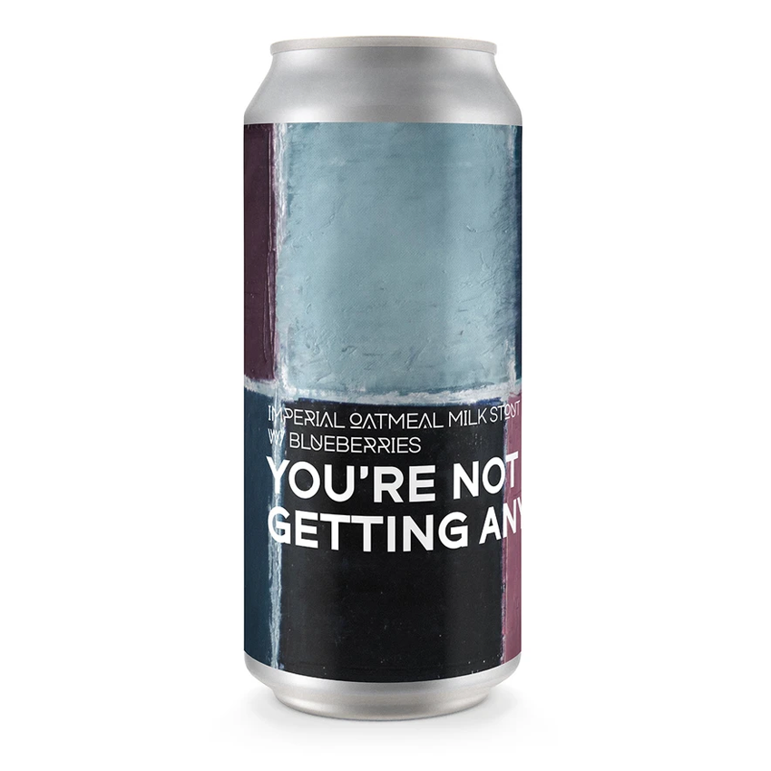 Boundary x Zapato You're Not Getting Any Imperial Oatmeal Milk Stout