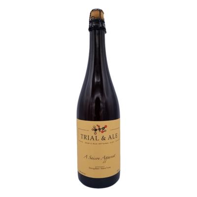Trial & Ale A Saison Apparent Farmhouse Ale