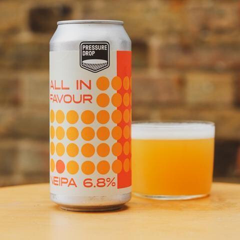 Pressure Drop All In Favour IPA