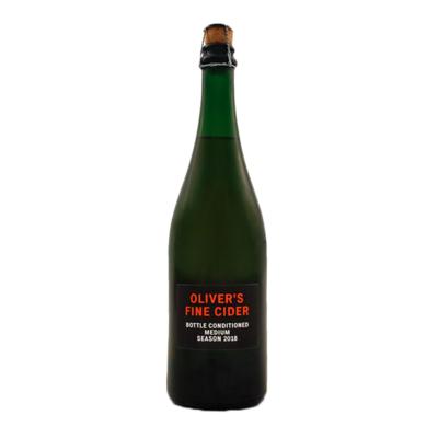Oliver's Bottle Conditioned Medium 2018 Cider