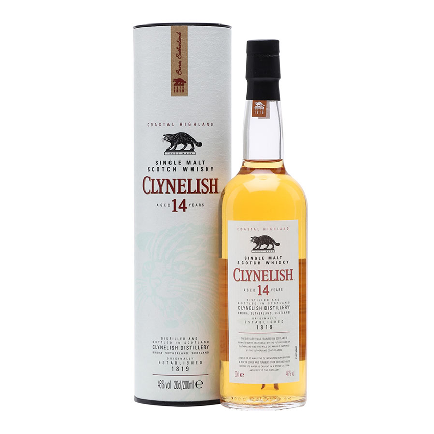 Clynelish 14yr Old Whisky 200ml