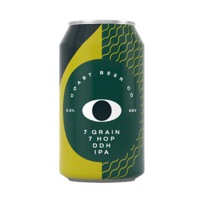 Coast Non Alcoholic 7 Grain 7 Hop DDH IPA