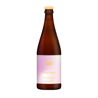 Cloudwater x Oliver's Going Further BA Cider & Lager Blend