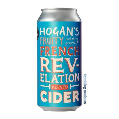 Hogan's French Revelation Cider Can