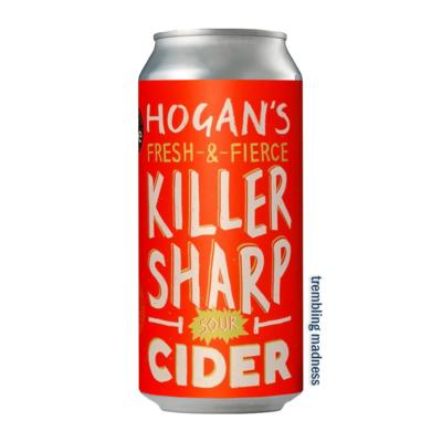 Hogan's Killer Sharp Sour Cider Can