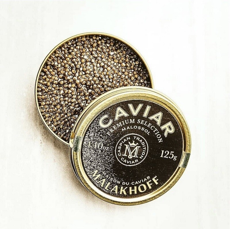 CAVIALE NERO ALTA QUALITA' PREMIUM SELECTION