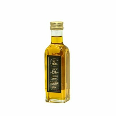 CONDIMENT BASED ON EXTRAVIRGIN OLIVE OIL FLAVORED WITH BLACK TRUFFLE