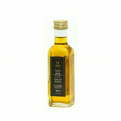 CONDIMENT BASED ON EXTRA VIRGIN OLIVE OIL FLAWORED WITH WHITE TRUFFLE