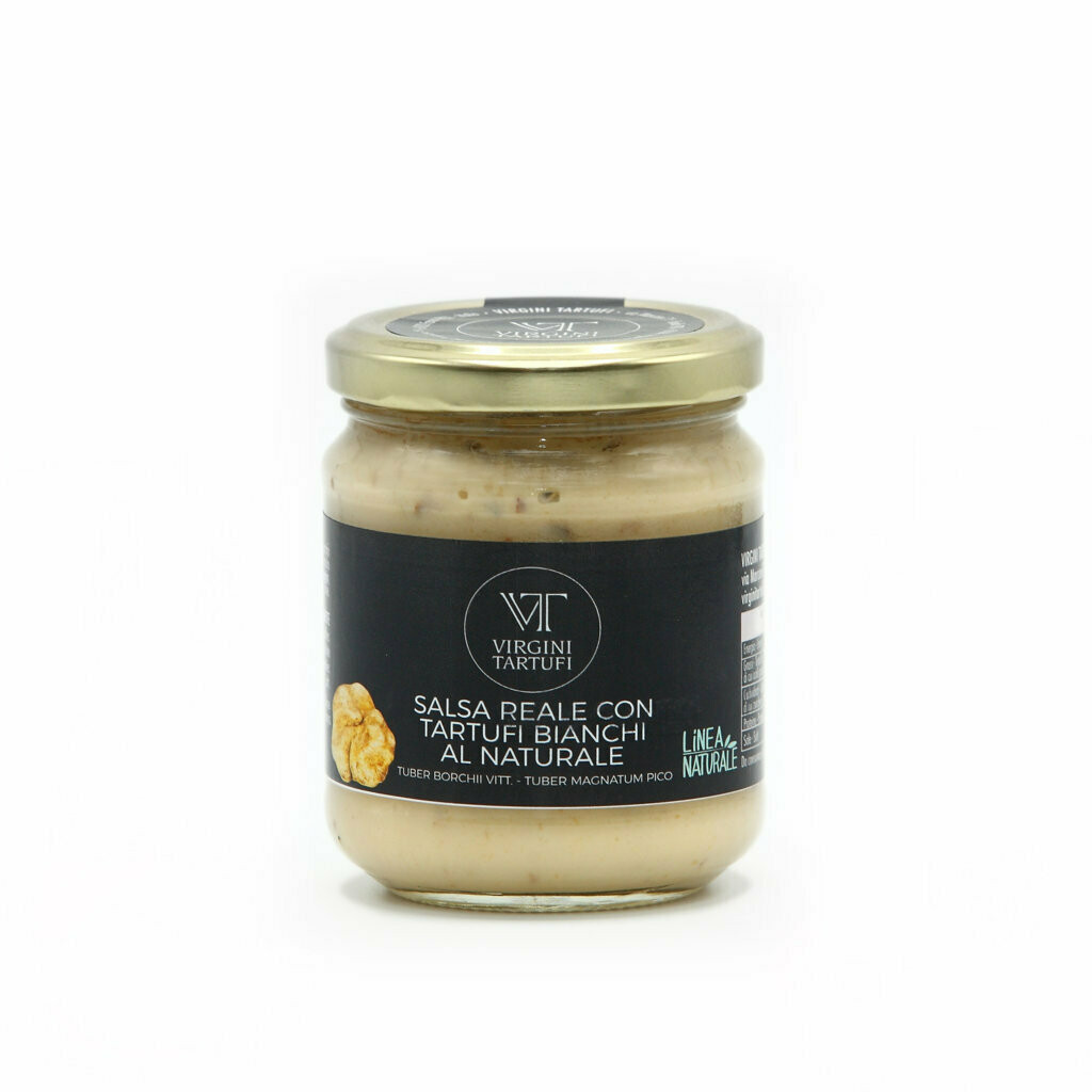 ROYAL SAUCE WITH 15% WHITE TRUFFLES