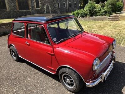 1967 Mini Cooper S Mk1