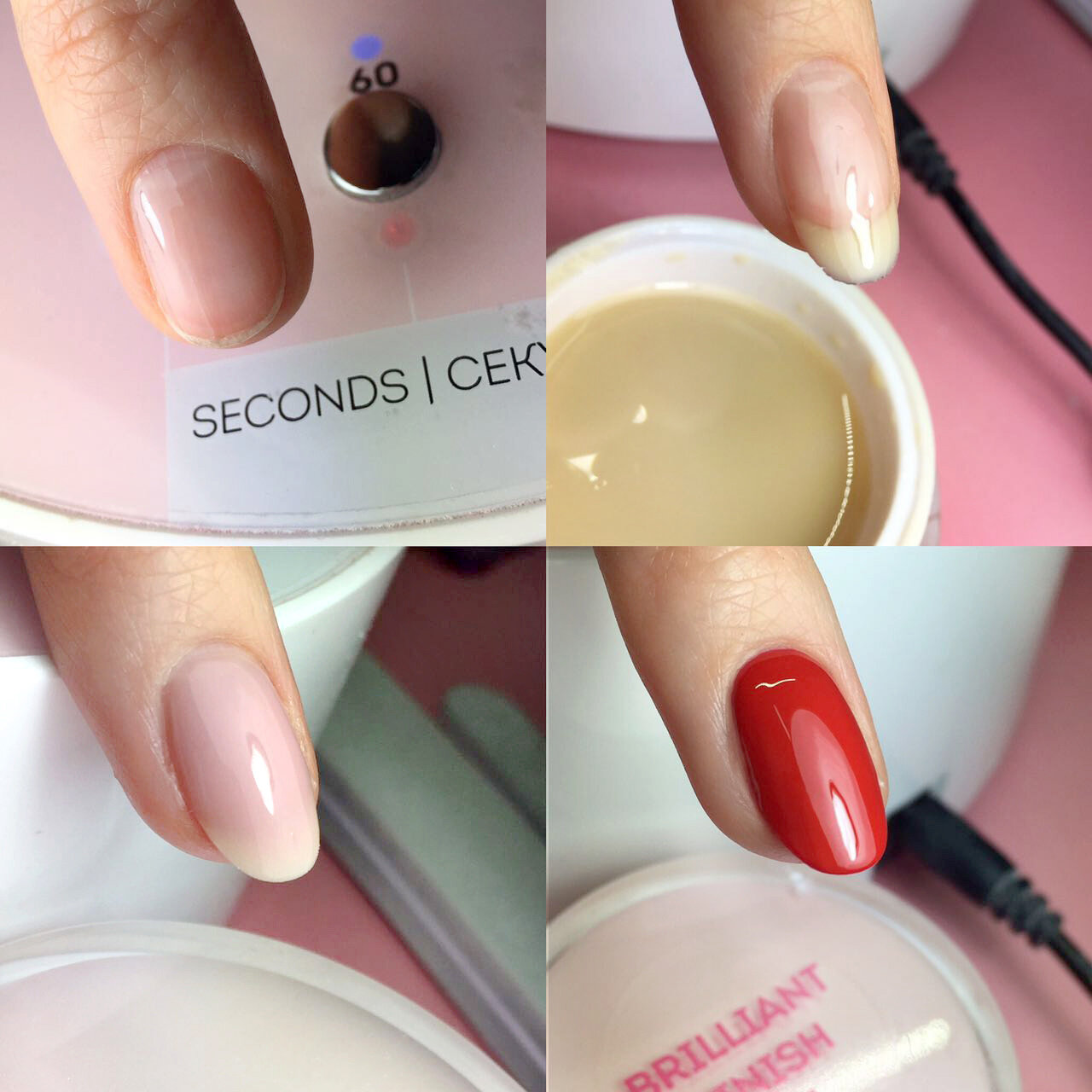 Combi-Style Strengthening & Extension on the nail forms using the gel