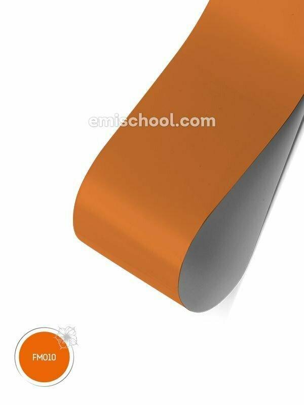 Foil matte Orange, 1.5 m.