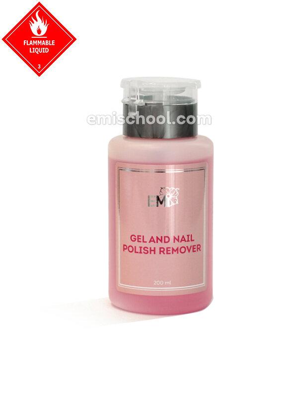 Gel and Nail Polish Remover, 200/1000 ml.