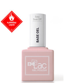 E.MiLac Easy Soak Off Base Gel, 9 ml.