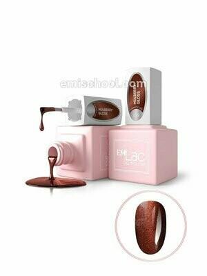 E.MiLac MG Mulberry Gloss #136, 9 ml.