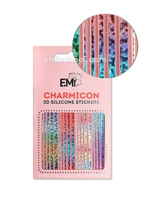 Charmicon 3D Silicone Stickers #100 Lines