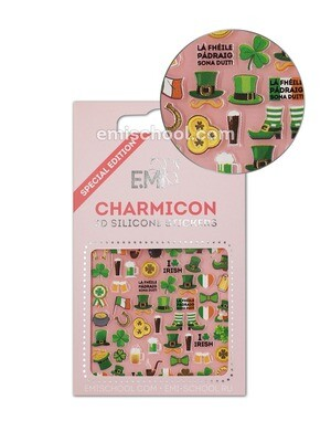 Charmicon 3D Silicone Stickers Ireland