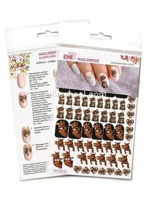 Naildress Slider Design Cats