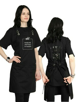 Apron Black / White
