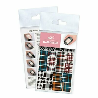 Naildress Slider Design #61 Tartan