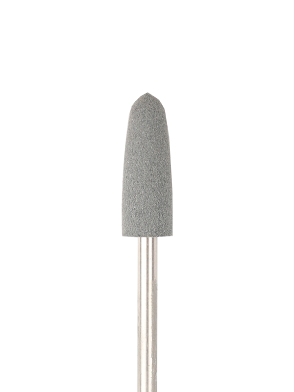 Cone-shaped silicone rotary file, 6 mm, Coarse abrasiveness