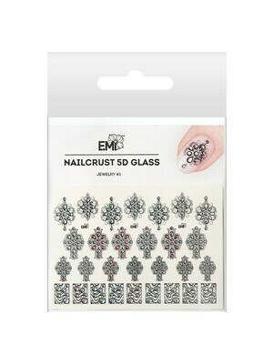 NAILCRUST 5D GLASS Jewelry #1