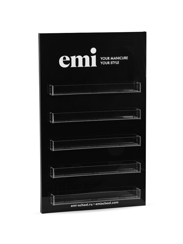 Display E.MiLac 50 Colors, Black