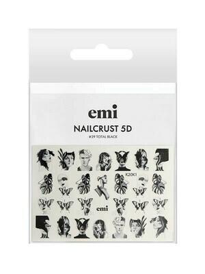 NAILCRUST 5D #29 Total Black