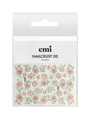 NAILCRUST 5D #26 Roses