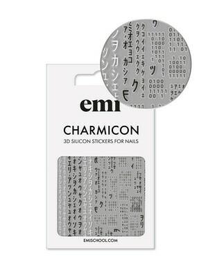Charmicon 3D Silicone Stickers #171 Matrix
