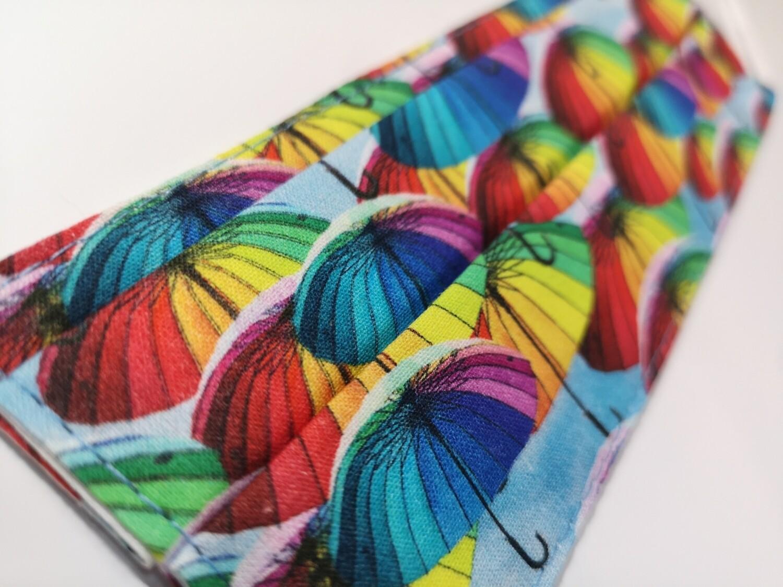 Rainbow Umbrella Facemask