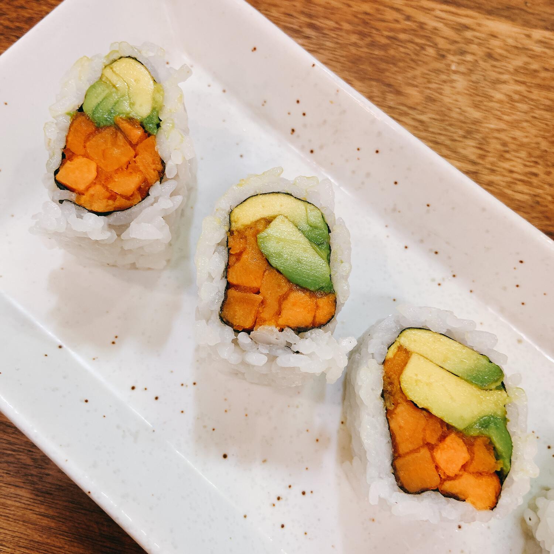 Avocado & Yam Roll
