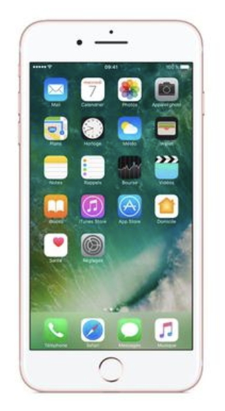 Iphone 7 plus 64go ROSE