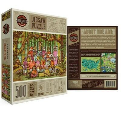 True south 500 Piece puzzle Woodland School