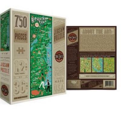 True south 500 piece puzzle Appalachian trail