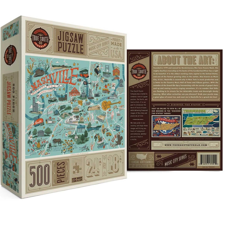 Ture south 500 peice puzzle Nashville