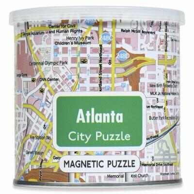 100 Piece Magnetic Puzzle - Atlanta