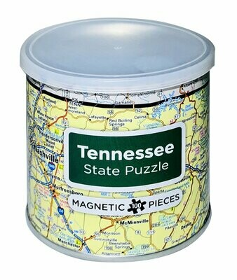 100 Piece Magnetic Puzzle - Tennessee