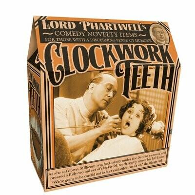 Clockwork Teeth Counter Display