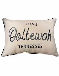 I love Ooltewah pillow