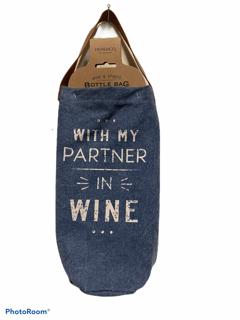 Partner in Wine Wine Bottle Bag