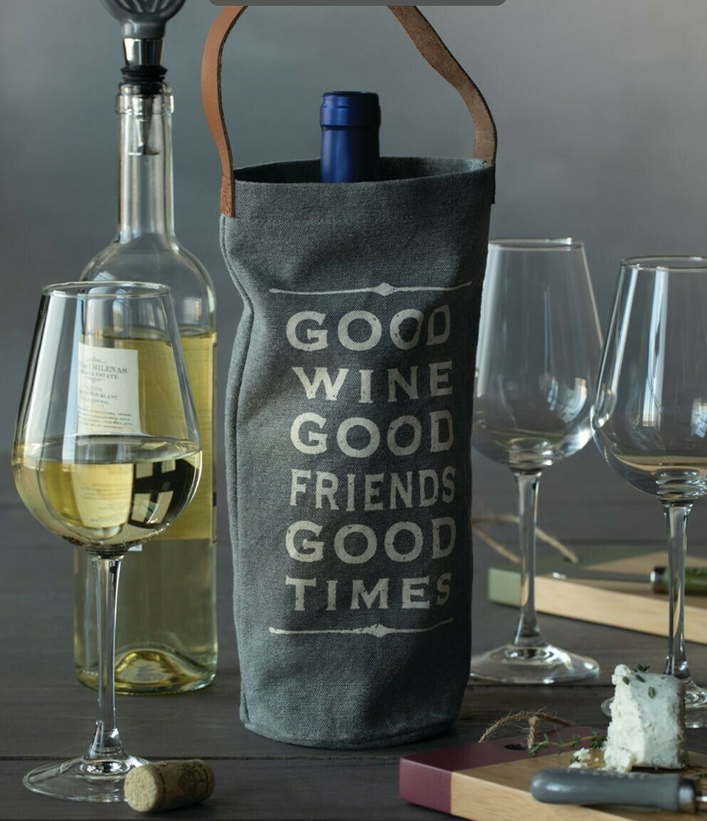 Good Wine Wine Bottle Bag