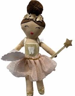 Mud Pie Ballerina Tooth Fairy Doll