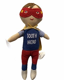 Super Hero Tooth Fairy Doll Soft Toy
