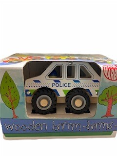 Wooden Brrm-Brrms Emergency Vehicles