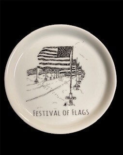 Ringgold Festival of flags coaster