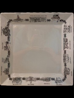 Large Ringgold plate
