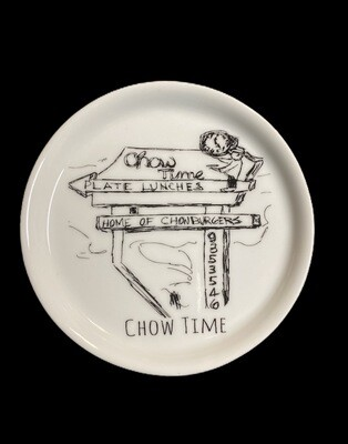 Ringgold Chow Time coaster